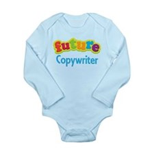 Future Copywriter Long Sleeve Infant Bodysuit