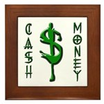 CASH MONEY Framed Tile