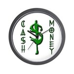 CASH MONEY Wall Clock