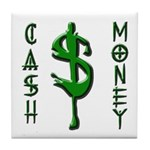 CASH MONEY Tile Coaster