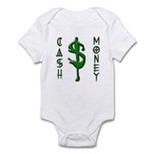 CASH MONEY Onesie