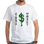 CASH MONEY White T-Shirt
