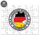 Germany Munich LDS Mission Flag Cutout Map 1 Puzzl