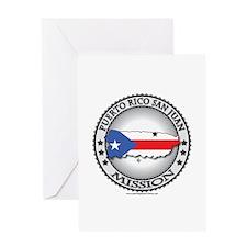 Puerto Rico San Juan LDS Mission Flag Cutout 1 Gre