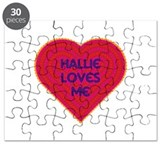 Hallie Loves Me Puzzle