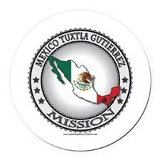 Mexico Tuxtla Gutierrez LDS Mission Flag Cutout 1