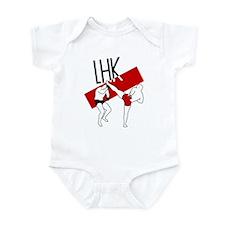 LHK (Left High Kick) Infant Bodysuit