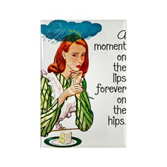 Moment On The Lips Fridge Magnet