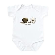 Going Halfsies Apple Infant Bodysuit