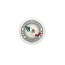 Mexico Oaxaca LDS Mission Flag Cutout Mini Button