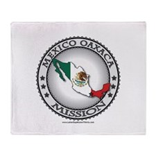 Mexico Oaxaca LDS Mission Flag Cutout Stadium Bla