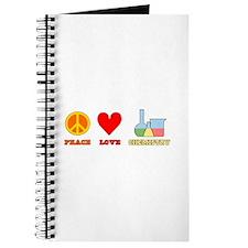 Peace Love Chemistry Journal