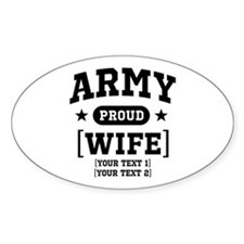 Army Wife/Aunt/Uncle Decal
