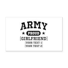Army grandma/grandpa/girlfriend/in-laws Rectangle