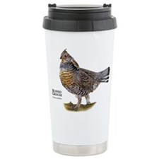 Ruffed Grouse Ceramic Travel Mug