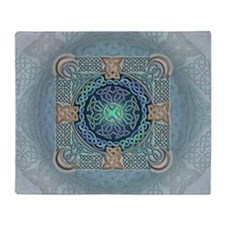 Celtic Eye of the World Throw Blanket
