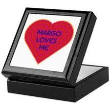 Margo Loves Me Keepsake Box