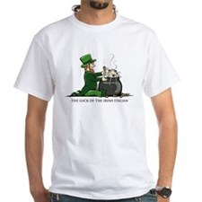 Luck of the Irish Italian Organic Cotton Tee T-Shi
