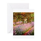 Funny Monet Greeting Card