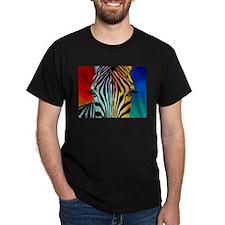 Zebra Ash Grey T-Shirt