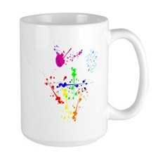 Colorful Splatter Mug