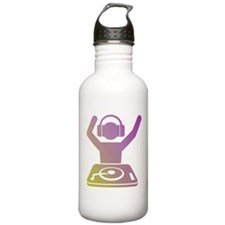 Colorful DJ Water Bottle