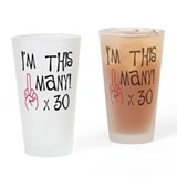 Cute Adult humor Drinking Glass