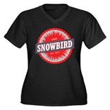 Snowbird Ski Resort Utah Red Plus Size T-Shirt