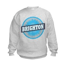 Brighton Ski Resort Utah Sky Blue Sweatshirt