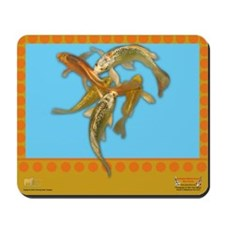 Butterfly koi Mousepad