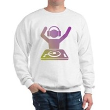 Colorful DJ Sweatshirt