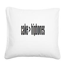 Cake > Hipbones Square Canvas Pillow