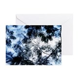 Hazy Leafs Greeting Card 7.5x5.5 Greeting Cards (P