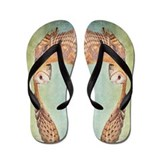Barn Owl Flip Flops