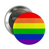 "Cute Bisexual heart 2.25"" Button (10 pack)"