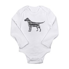 Labrador Typography Art Body Suit
