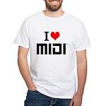 I Love MIDI T-Shirt