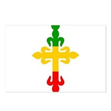 Ethiopian Cross Postcards (Package of 8)