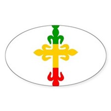 Ethiopian Cross Decal