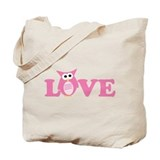 Owl Love Tote Bag