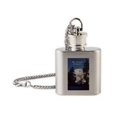 Mt. Hood Flask Necklace
