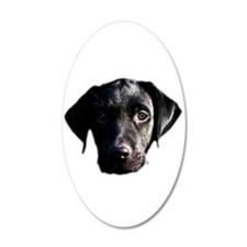 Black lab Wall Decal