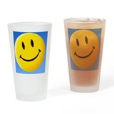 Smiley face symbol - Drinking Glass