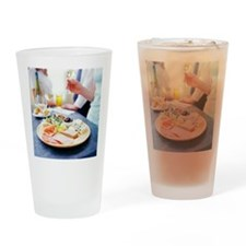 Cheese and meats - Drinking Glass