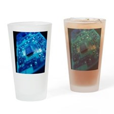 Computer circuit board - Drinking Glass