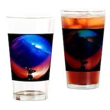 Spacecraft tracking antenna - Drinking Glass