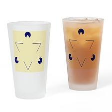 Kanizsa triangle - Drinking Glass