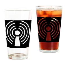 Wireless internet symbol - Drinking Glass
