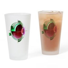 Human eye - Drinking Glass