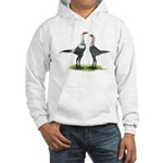 Modern Games Silver Blue Hooded Sweatshirt